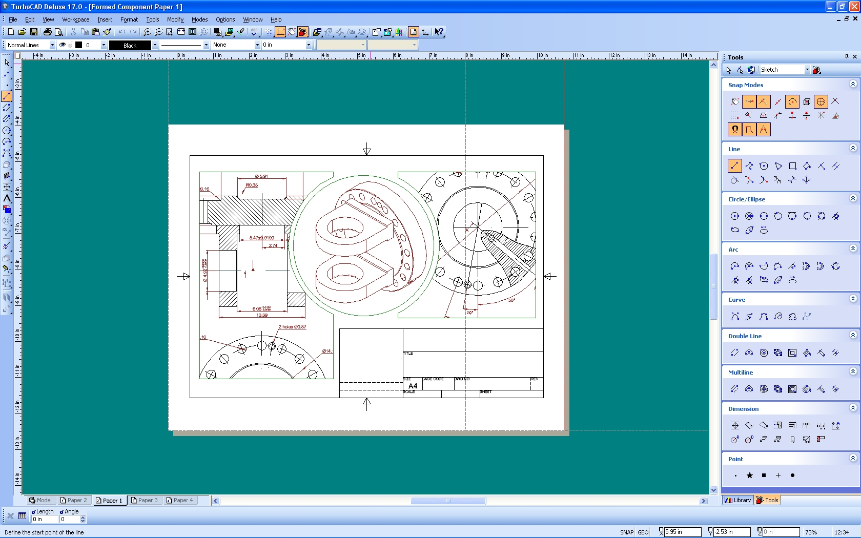 turbocad software turbocad deluxe for windows