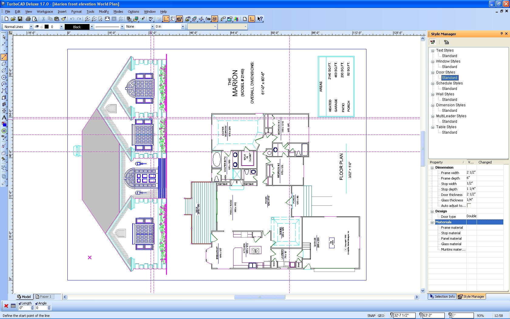 turbocad drawing template - turbocad software turbocad deluxe for windows