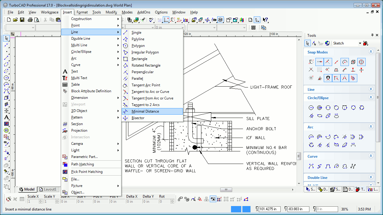 Turbocad software turbocad professional for windows for Online 2d drafting software